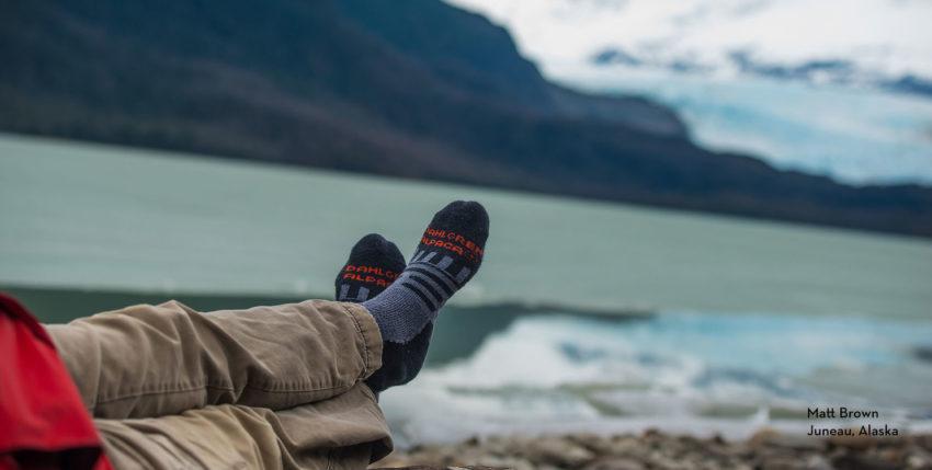Les chaussettes Dahlgren achetées par le distributeur canadien In-Sport Fashions
